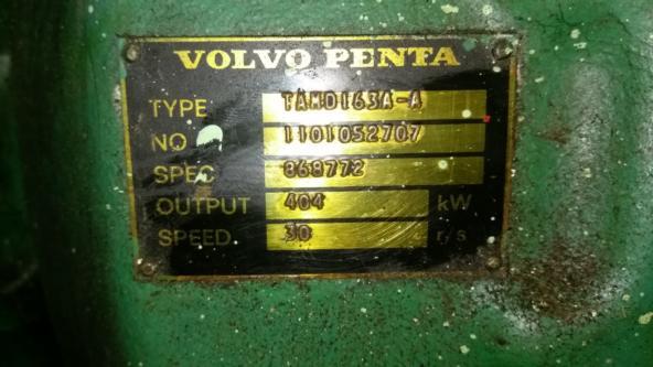 Volvo Penta Crankshaft