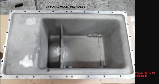 Cummins Oil pan